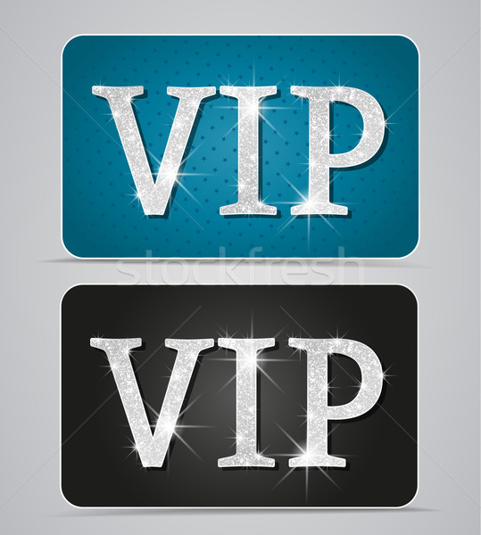 vip cards Stock photo © odina222