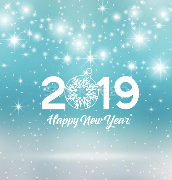 Happy New Year 2019 Stock photo © odina222