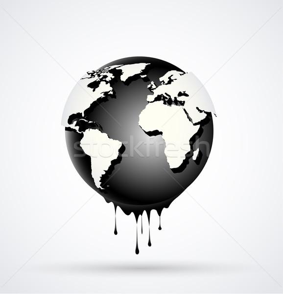 Earth globe Stock photo © odina222