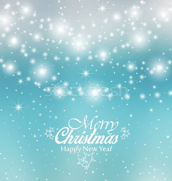 Vektör Noel renkli neşeli dizayn Stok fotoğraf © odina222