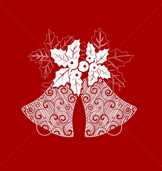 Christmas bells Stock photo © odina222