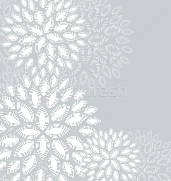 цветочный аннотация место текста цветок бумаги Сток-фото © odina222