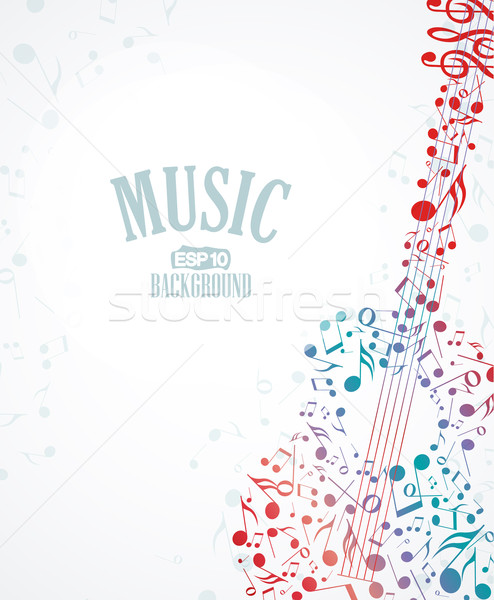 music background Stock photo © odina222