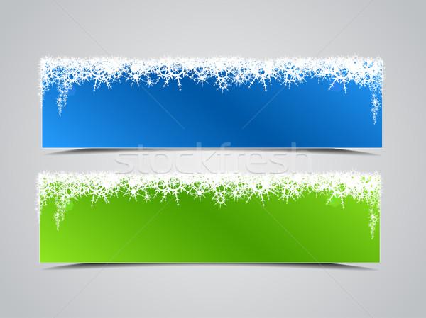 banner winter Stock photo © odina222