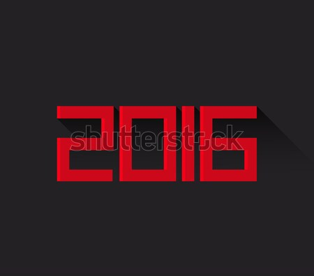 New Year 2016 Stock photo © odina222