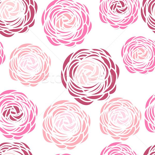Pembe çiçekler çiçek düğün yaprak Stok fotoğraf © odina222