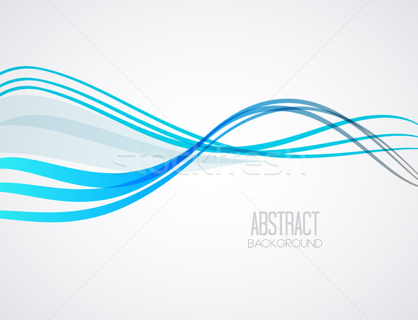 Vector abstract wave Stock photo © odina222