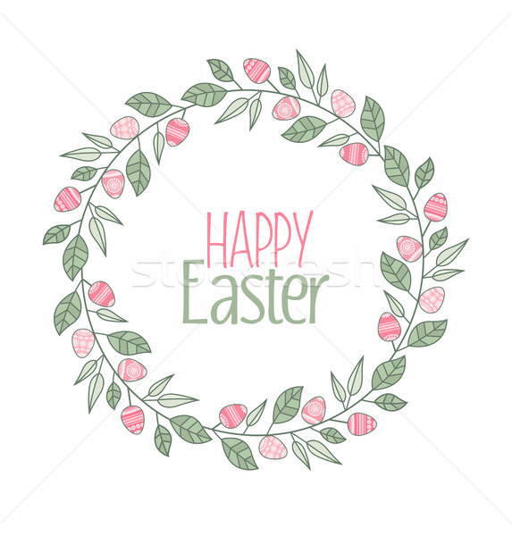 Vector Easter frame Stock photo © odina222