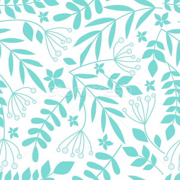 Seamless pattern with leaves Stock photo © odina222