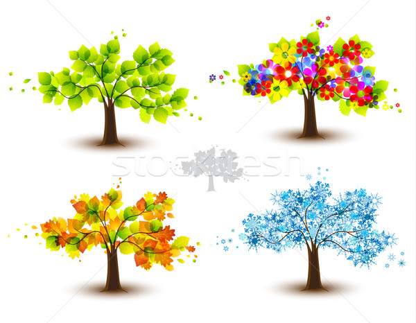 trees Stock photo © odina222