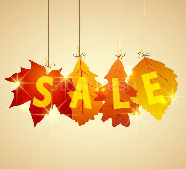 sale autumn Stock photo © odina222