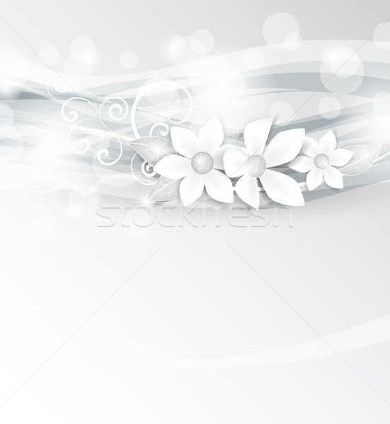 White flowers Stock photo © odina222