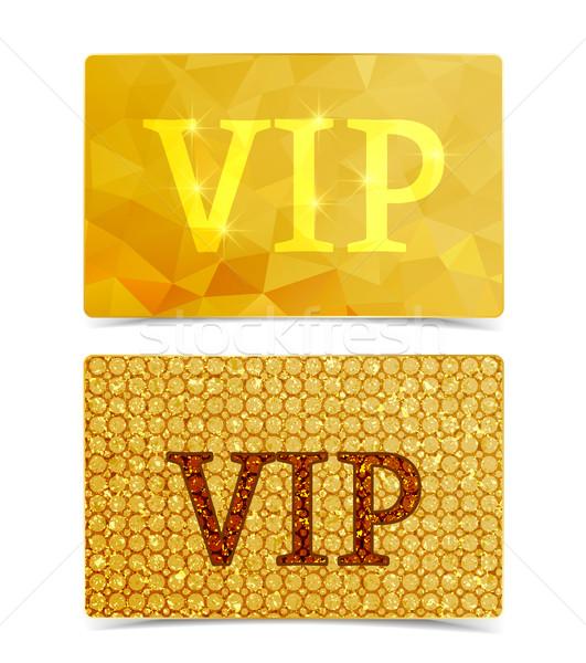 Vector vip cards Stock photo © odina222