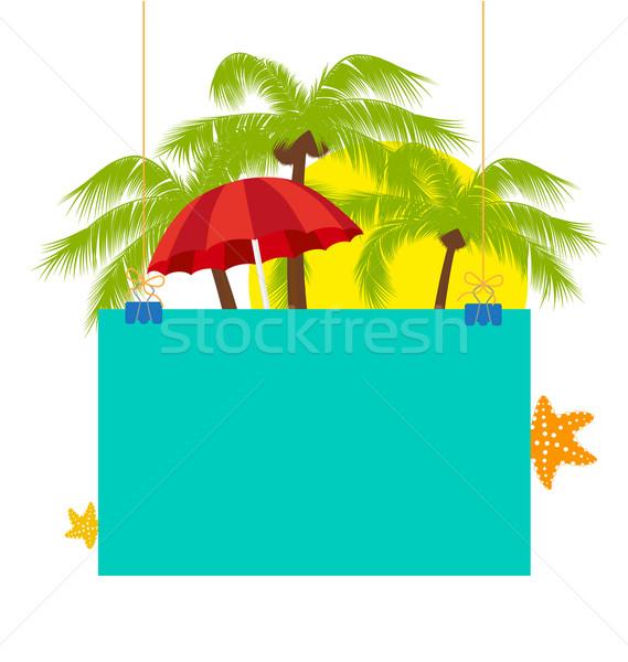 Summer holiday Stock photo © odina222