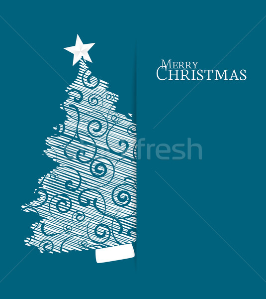 Christmas tree Stock photo © odina222