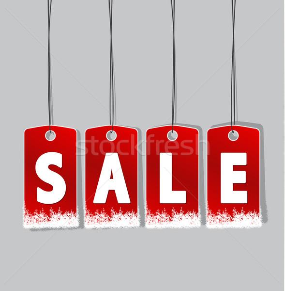 winter sale Stock photo © odina222