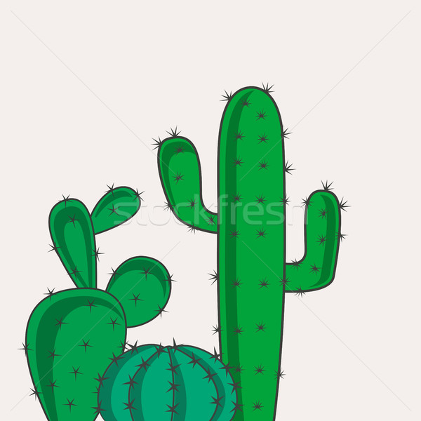Cactus desert plants Stock photo © odina222