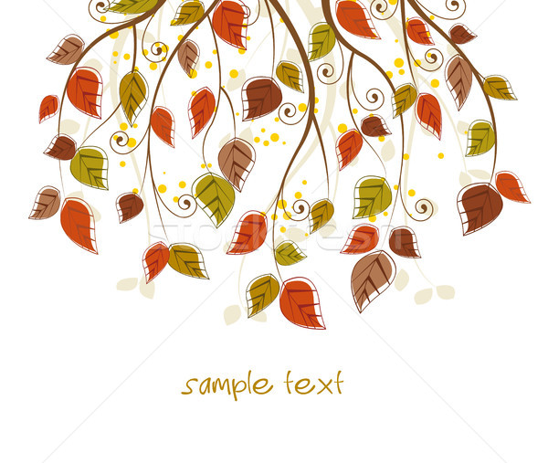Stock photo: foliage color