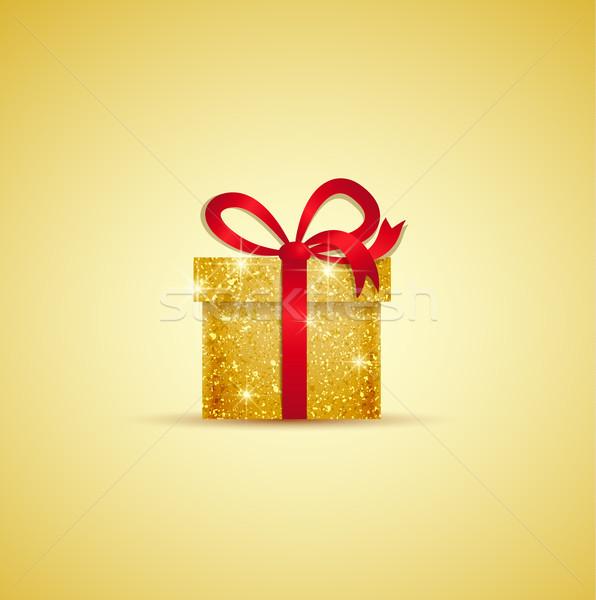 вектора Рождества подарок веселый Сток-фото © odina222