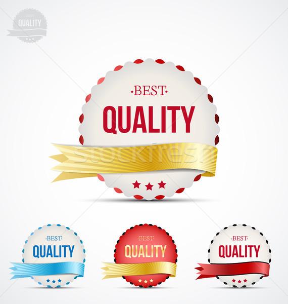 badge of quality Stock photo © odina222