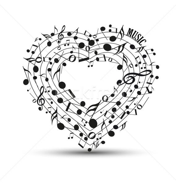 music background Stock photo © odina222