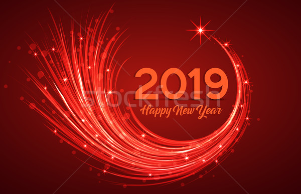 Happy New Year 2019 Stock photo © odina222