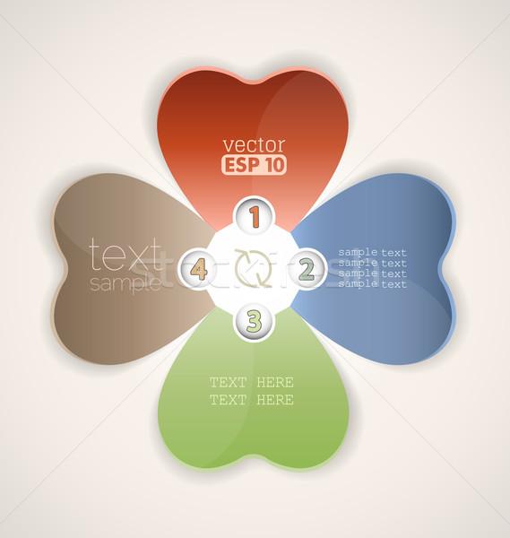 design template Stock photo © odina222