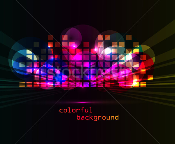 Colorful abstract background Stock photo © odina222