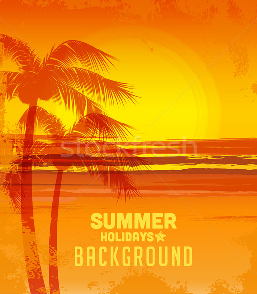 Summer background Stock photo © odina222