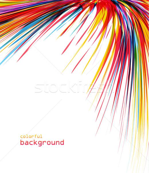 аннотация цвета вектора красочный фотография Сток-фото © odina222