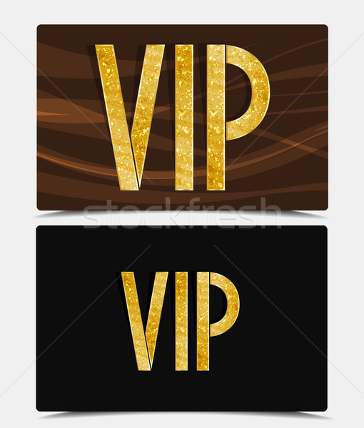 V.I.P Card Stock photo © odina222