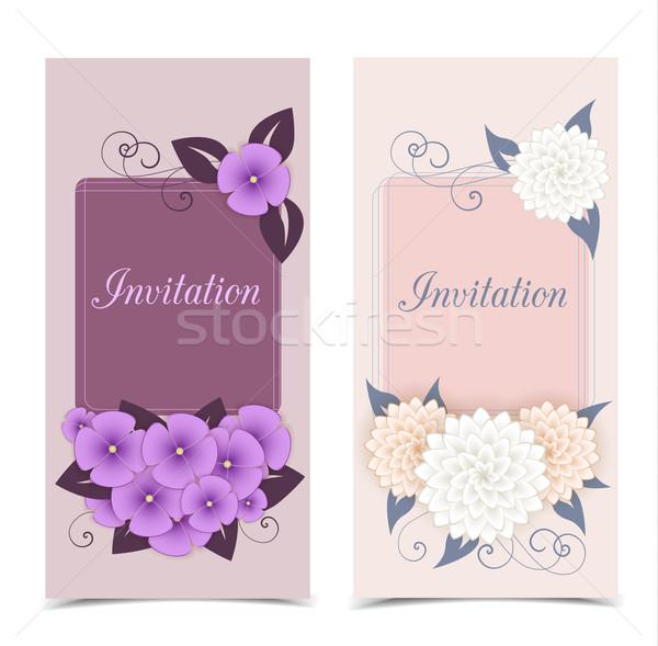 Floral color design Stock photo © odina222