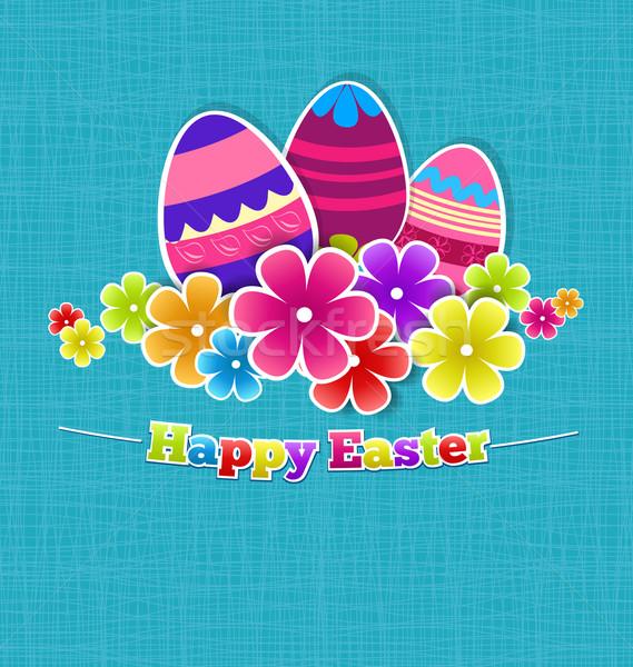 Easter egg Stock photo © odina222