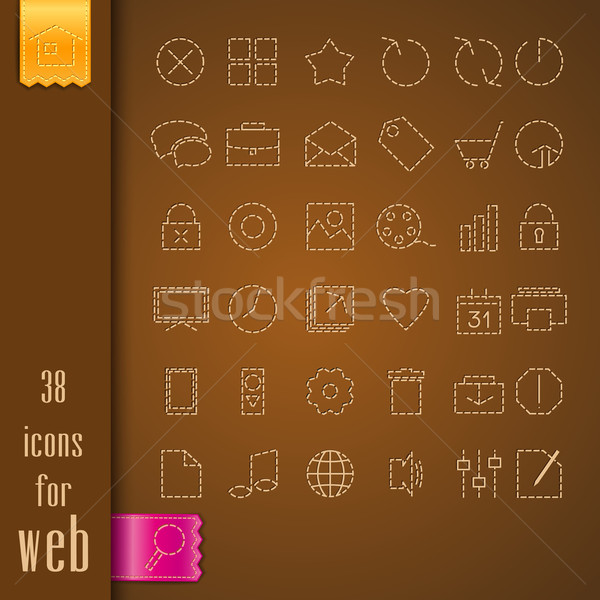 icons Stock photo © odina222