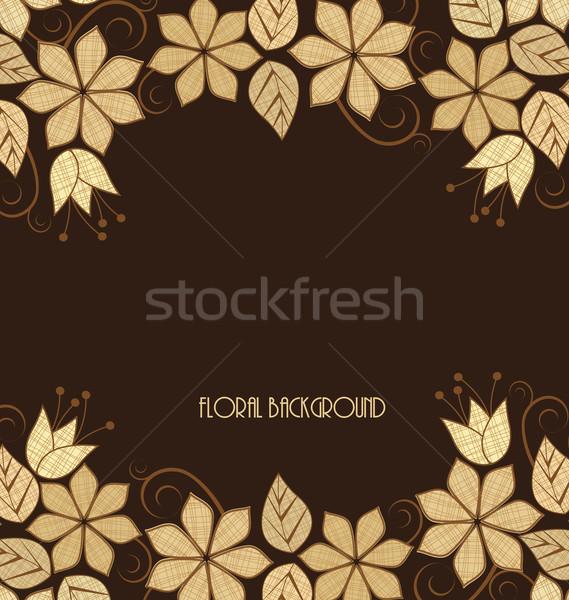 floral frame Stock photo © odina222