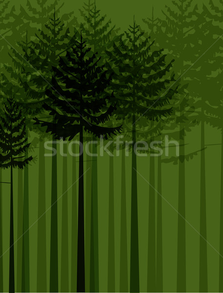 Group of trees Stock photo © odina222