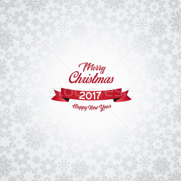 Szczęśliwego nowego roku niebo strony szczęśliwy streszczenie świetle Zdjęcia stock © odina222
