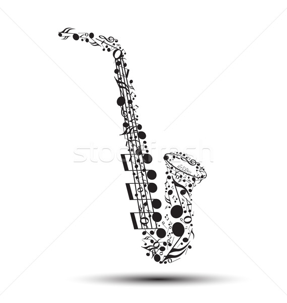 Saxophone Stock photo © odina222