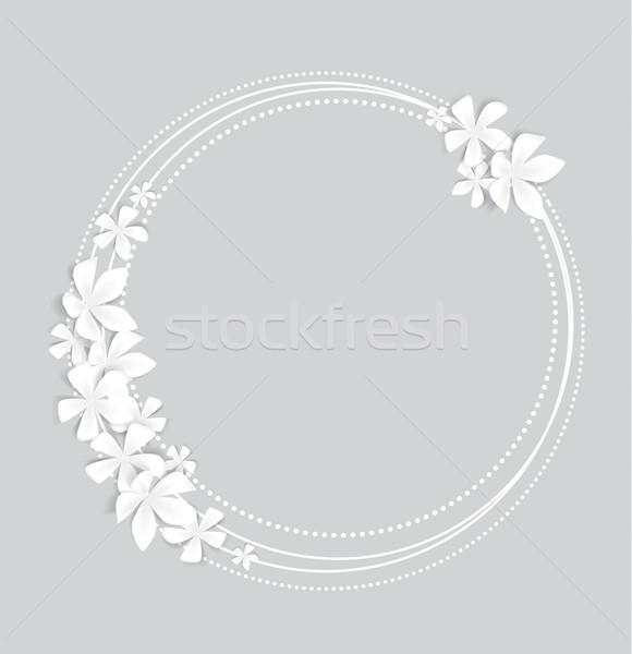 Floral background Stock photo © odina222