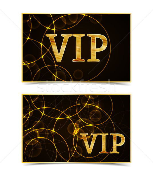 Vector V.I.P Card Stock photo © odina222