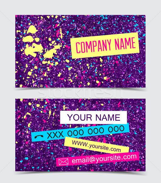 Business Cards Stock photo © odina222