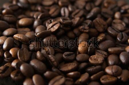 Сток-фото: кофе · складе · изображение · свежие · продовольствие · природы