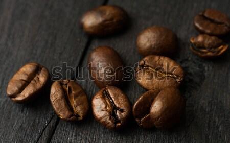 кофе складе изображение свежие продовольствие природы Сток-фото © oei1