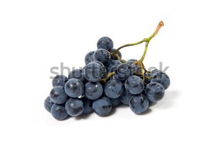 Сток-фото: выстрел · черный · виноград · изолированный