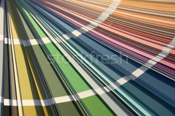цвета карт различный цветами дизайна Сток-фото © offscreen