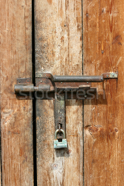 Padlock Stock photo © offscreen