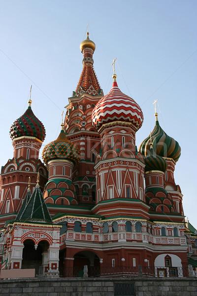 Stockfoto: St · Basil · Kathedraal · Red · Square · reizen · Rood · geschiedenis · godsdienst