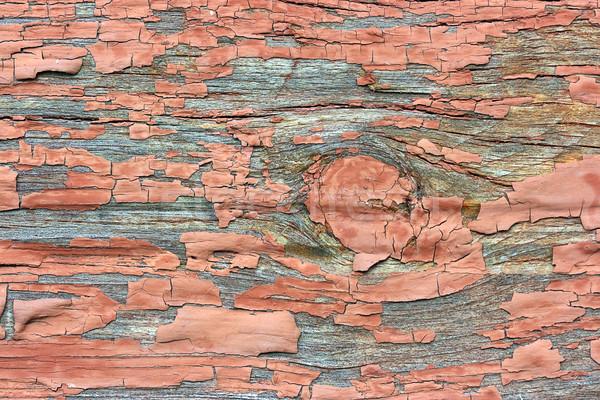 древесины стены старое дерево окрашенный дизайна домой Сток-фото © offscreen