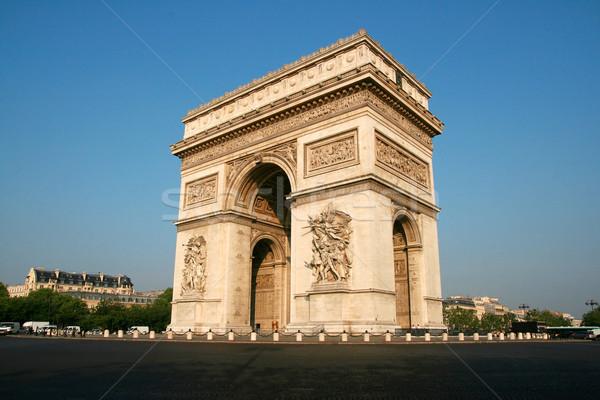 арки утра здании городского каменные архитектура Сток-фото © offscreen
