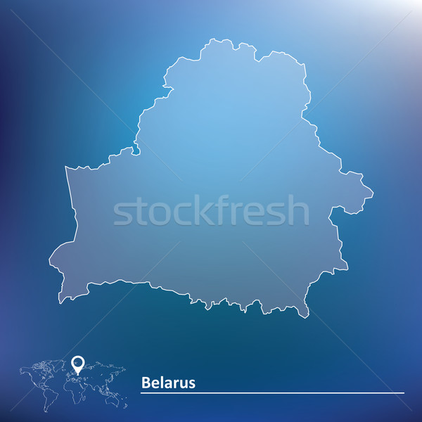 Map of Belarus Stock photo © ojal